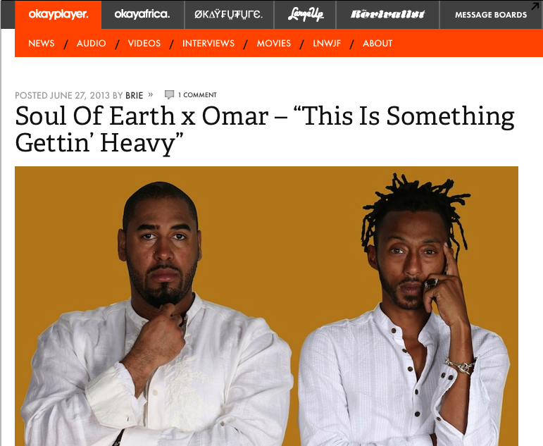 Soul Of Earth_Okayplayer June 2013_2